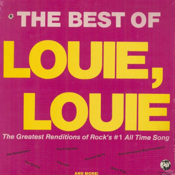The Best Of Louie, Louie (LP, Cut-Out)