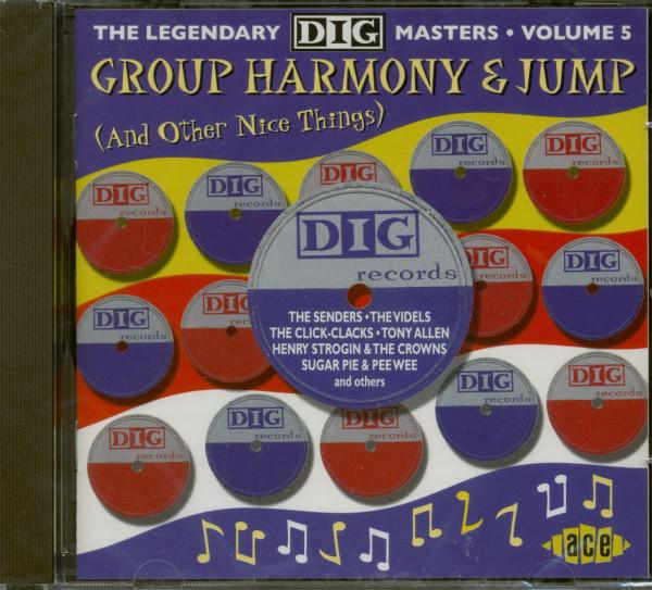 Group Harmony & Jump - Dig Masters Vol.5