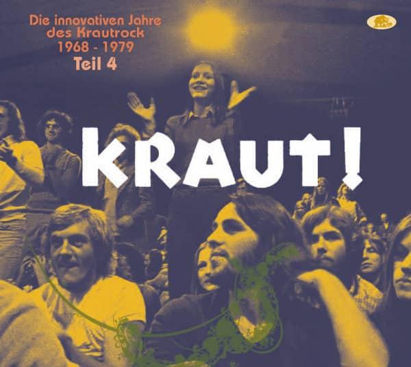 Teil 4 - KRAUT! - Die innovativen Jahre des Krautrock 1968-1979 (2-CD)