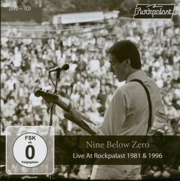 Live At Rockpalast 1981 & 1996 (3-CD + 2-DVD Box)