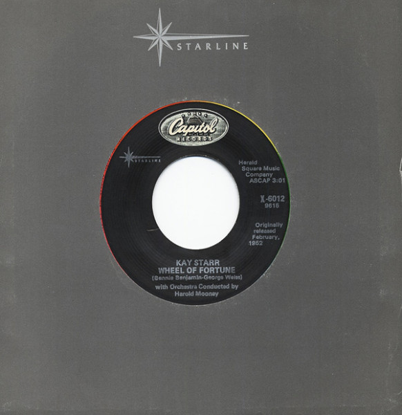 Wheel Of Fortune - Side By Side 7inch, 45rpm