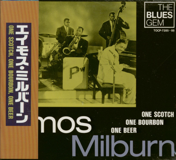 One Scotch, One Bourbon, One Beer (4-CD Box Japan)