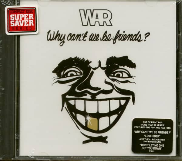 Why Can't We Be Friends ? (CD)