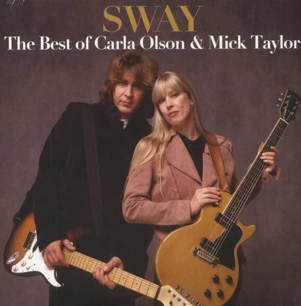 The Best Of Carla Olson & Mick Taylor (LP, Colored Vinyl, Ltd.)