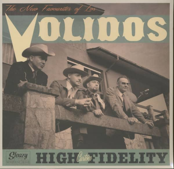 The New Favorites Of Los Volidos (LP, 10inch)