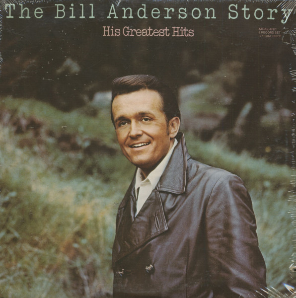 The Bill Anderson Story - His Greatest Hits (2-LP)