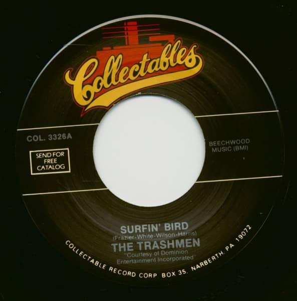 Surfin' Bird - Love You Madly (7inch, 45rpm)