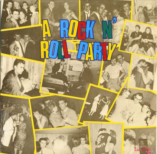 A Rock & Roll Party - Lu Pine Records (Vinyl LP)
