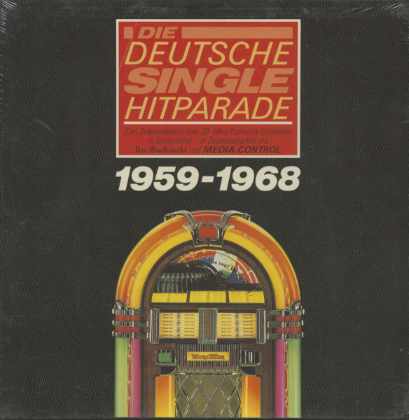 Die deutsche Single Hitparade - 1959-1968 (10-LP)