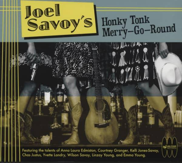 Joel Savoy's Honky Tonk Merry-Go Round (CD)