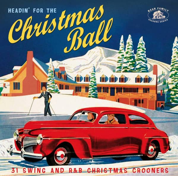 Headin' For The Christmas Ball (CD)