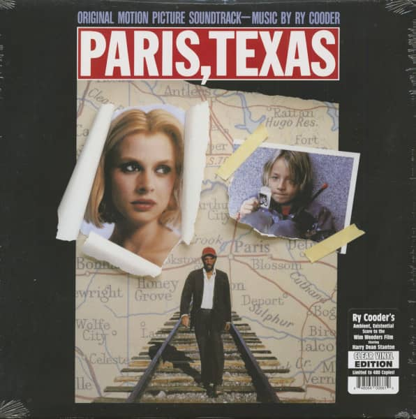 Paris, Texas - Soundtrack (LP, 180g Vinyl, Ltd.)