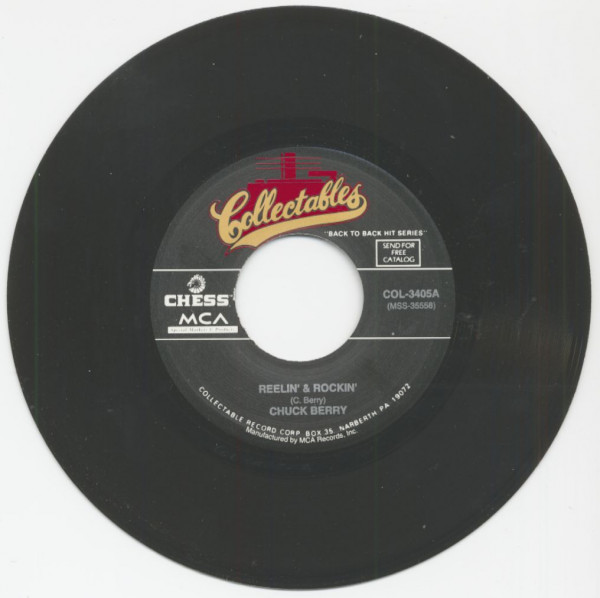 Reelin' And Rockin' - Memphis, Tennessee (7inch, 45rpm)