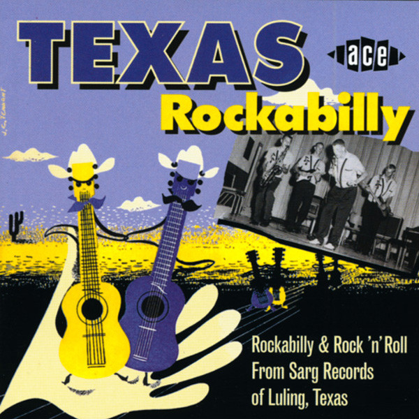 Texas Rockabilly - Sarg Records (CD)