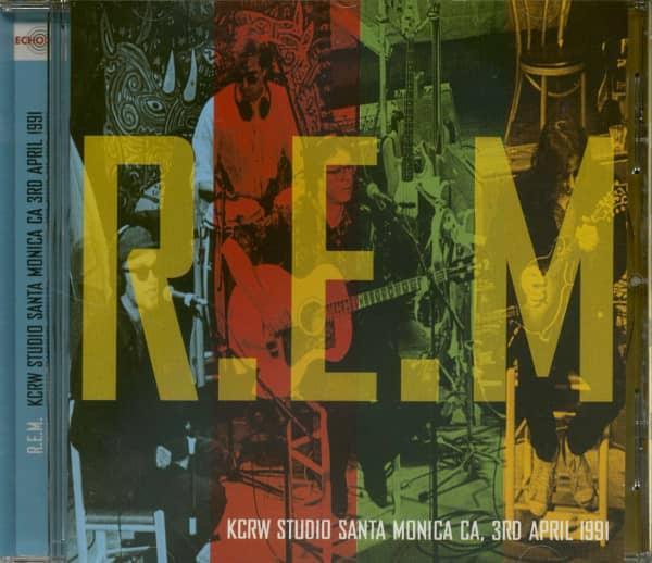 KCRW Studio Santa Monica CA, 3rd April 1991 (CD)