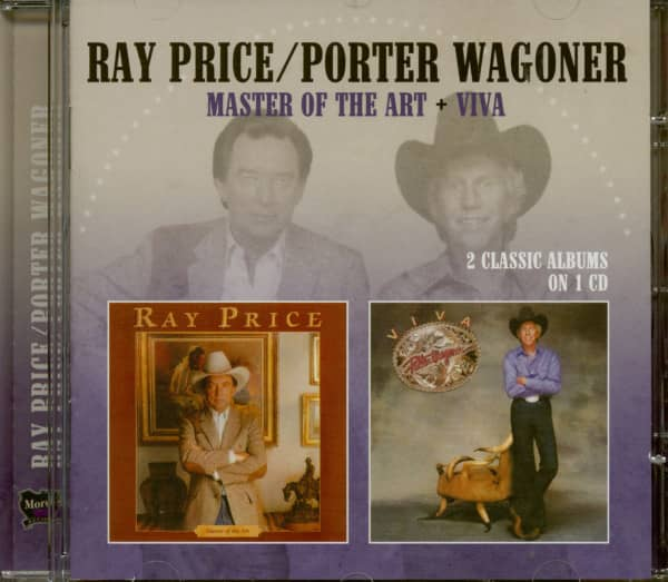 Ray Price & Porter Wagoner: Master Of The Art + Viva (CD)