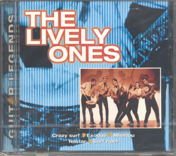 Guitar Legends - The Lively Ones (CD)