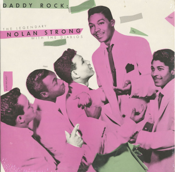 Daddy Rock - The Legendary Nolan Strong With The Diablos (LP)