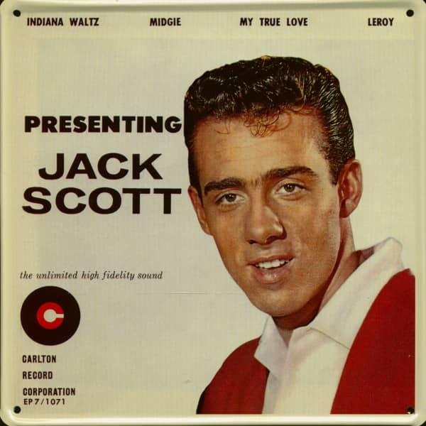 Collector Card Vol.5 - Presenting Jack Scott