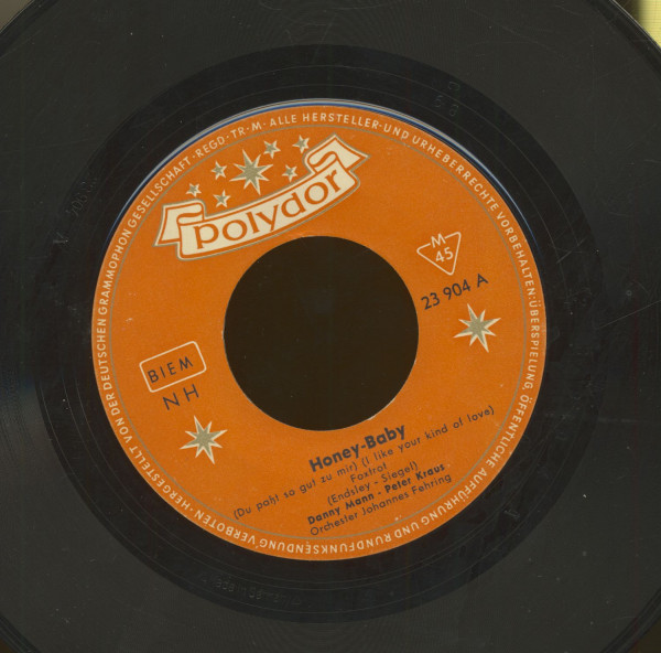 Honey Baby - Come On And Swing (7inch, 45rpm)