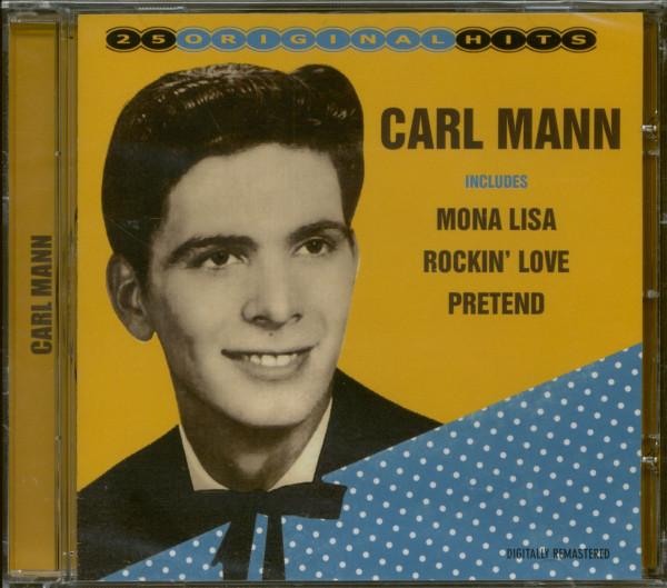 Carl Mann - 25 Original Hits (CD)