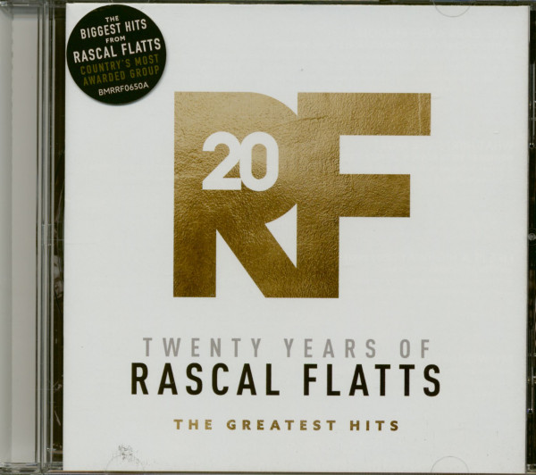 Twenty Years Of Rascal Flatts - The Greatest Hits (CD)