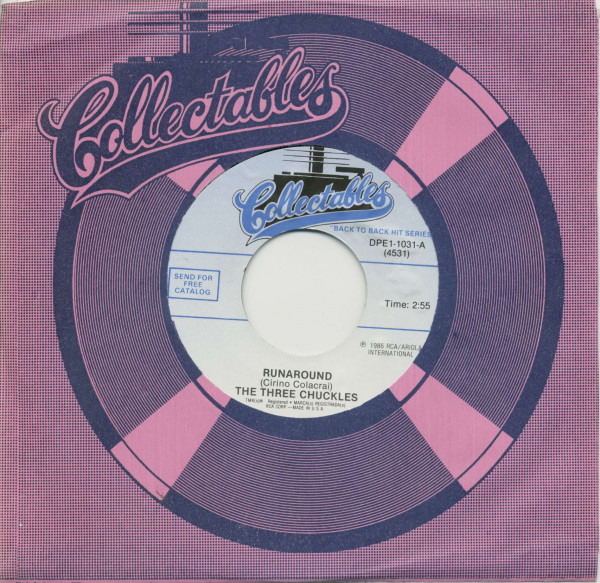 Runaround - Foolishly (7inch, 45rpm, BC, CS)