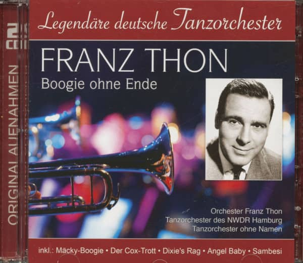 Boogie Ohne Ende - Legendäre deutsche Tanzorchester (2-CD)