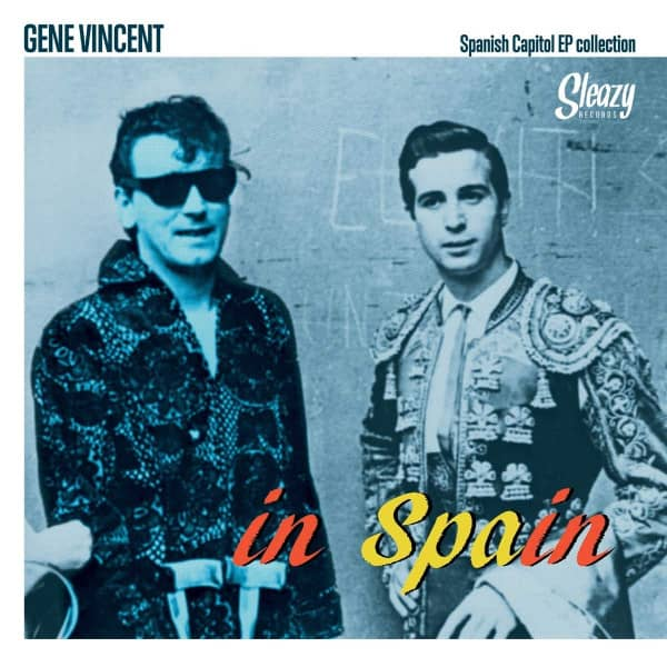 Gene Vincent In Spain (3-LP, Tri-Fold Cover, Ltd.)