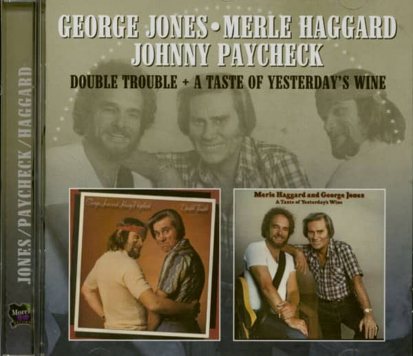 Johnny Paycheck, Merle Haggard - Double Trouble - A Taste Of Yesterday's Wine (CD)