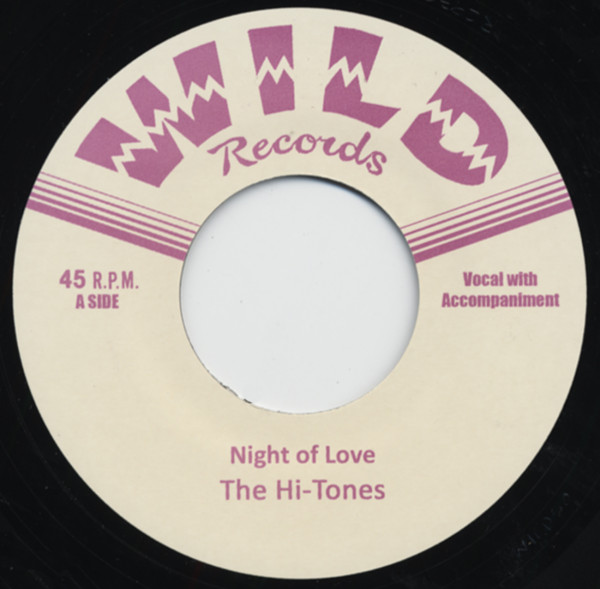 Night Of Love b-w Bad Love 7inch, 45rpm