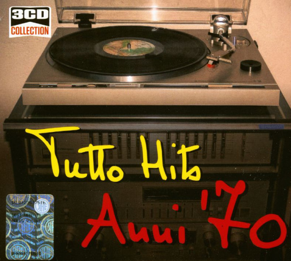 Hit Anni 70.Various Cd Tutto Hits Anni 70 3 Cd Bear Family Records