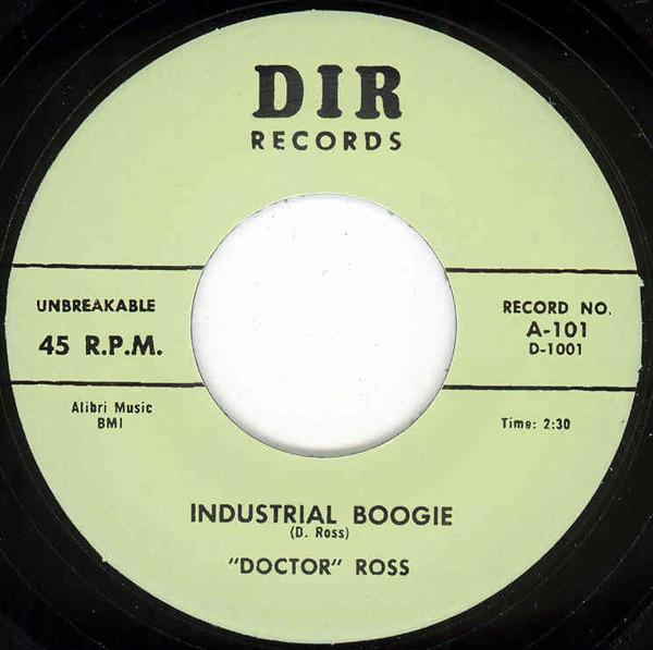 Industrial Boogie b-w Thirty-Two Twenty 7inch, 45rpm