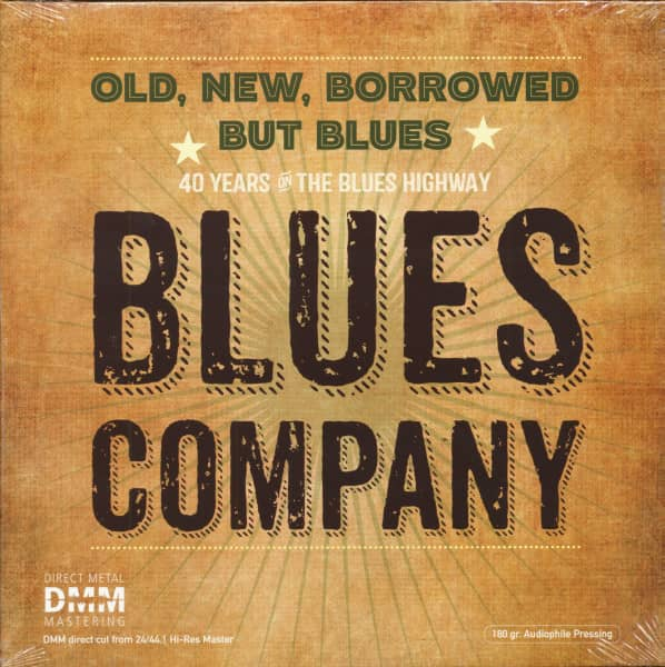 Old, New, Borrowed But Blues (2-LP, 180g Vinyl)