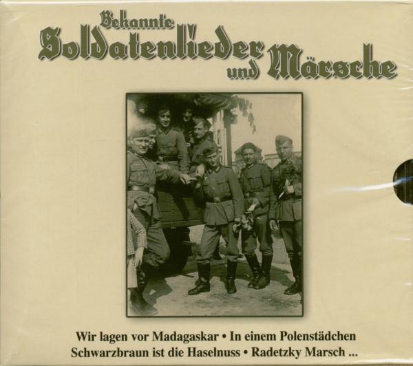 Bekannte Soldatenlieder Und Märsche (3-CD)