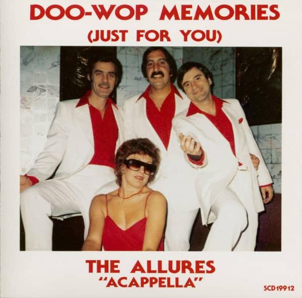 Doo-Wop Memories (Just For You) - The Allures 'Acappella' (CD)