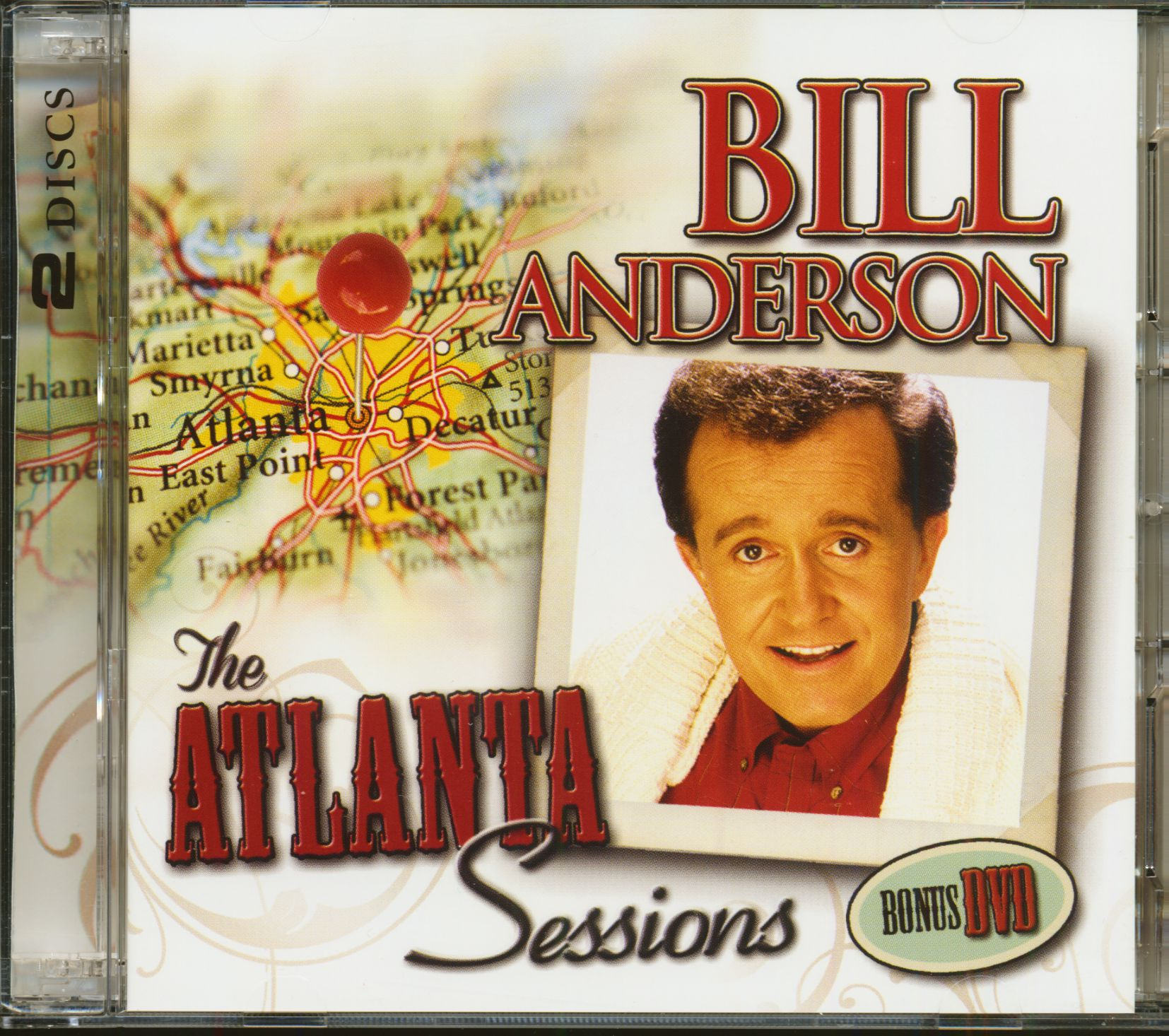 Bill Anderson The Atlanta Sessions (CD & DVD)