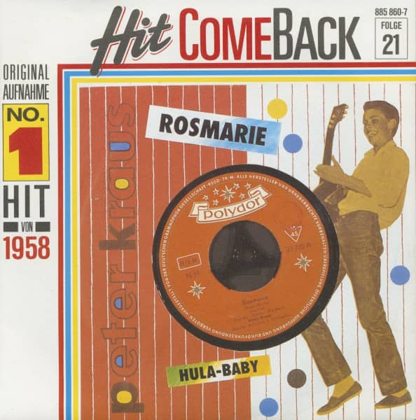 Rosmarie - Hula Baby (7inch, 45rpm, PS)