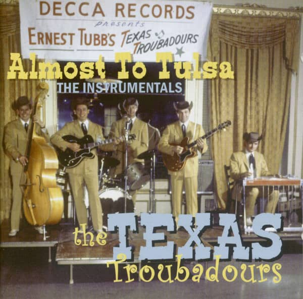 Almost To Tulsa - The Instrumentals (CD)