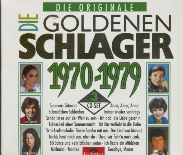 Die Goldenen Schlager 1970-79 (3-CD)