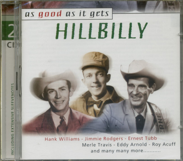 As Good As It Gets - Hillbilly (CD)
