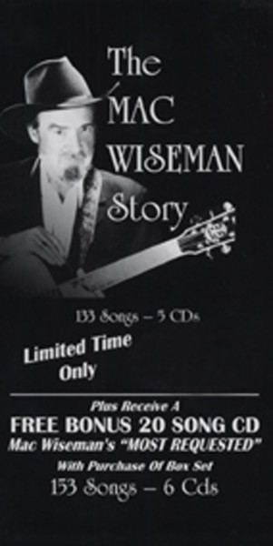 The Mac Wiseman Story (6-CD) Ltd.