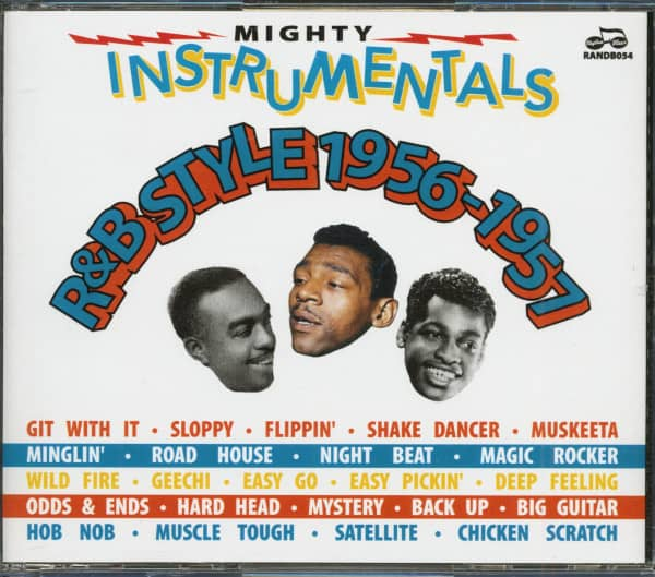 Mighty Instrumentals R&B-Style 1956-1957 (4-CD)