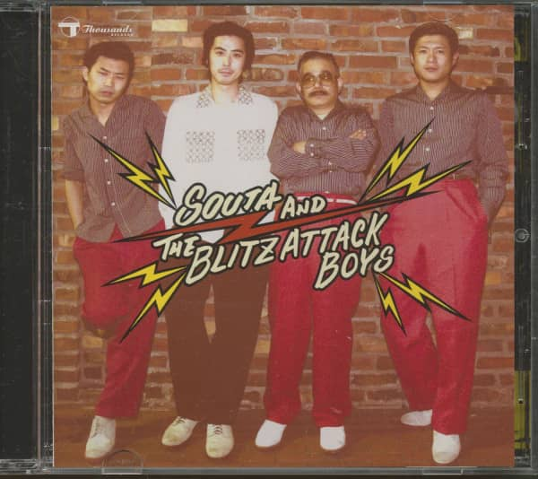 Souta And The Blitz Attack Boys (CD)