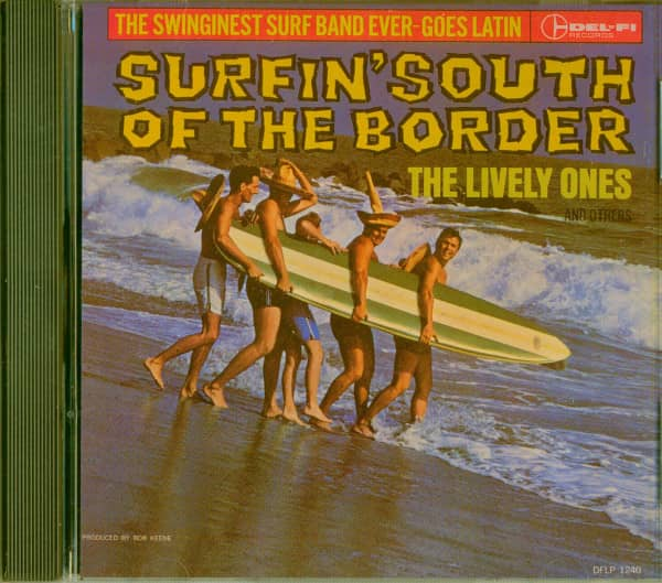 Surfin South Of The Border (CD)