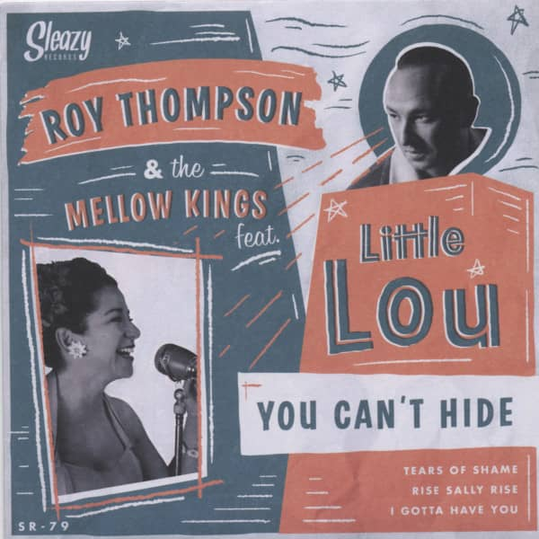 Roy Thompson & The Mellow Kings feat. Little Lou 7inch, 45rpm, EP, PS