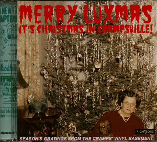 Merry Luxmas - It's Christmas In Crampsville (CD)