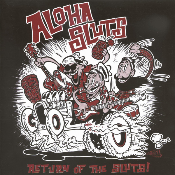 Aloha Sluts - Return Of The Sluts (EP, 7inch, 45rpm)