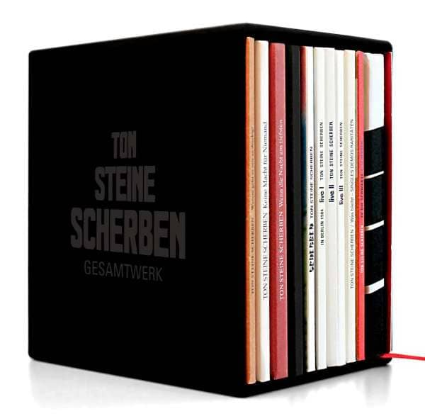 Gesamtwerk (13-CD, 1 Buch, Limited)