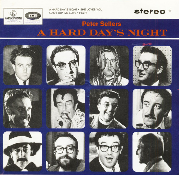 A Hard Day's Night (7inch, EP, 45rpm, PS, SC)